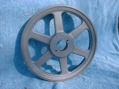 Vintage Cast Iron Wheel  Farm Pulley Antique Old Rustic Decor Steampunk HEAVY