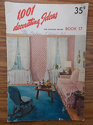 1960 1001 Decorating Ideas Catalog Book 17 Consolidated Trimming Corporation 2