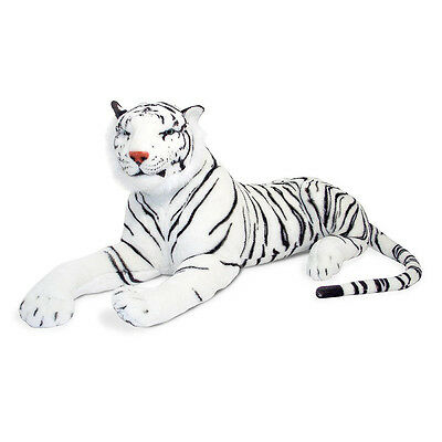 NEW Melissa & Doug Large Plush White Tiger