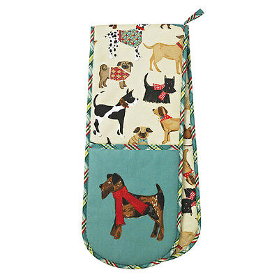 NEW Ulster Weavers Hound Dog Double Oven Glove