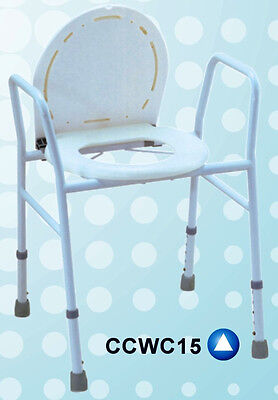 Over toilet aid  - commode chair - Shower chair - bucket, lid and seat included