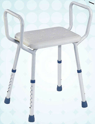 Shower Stool  - adjustable height - Light weight frame - Buy direct and save