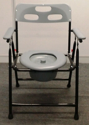 Commode Chair - Easy Folding - Camping Toilet - Large 48Cm Width - Free Delivery