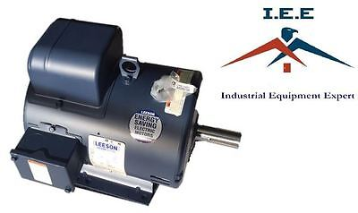 3HP 1725RPM 184T Frame 115/208-230 Volts Open Drip Leeson Electric Motor 131534