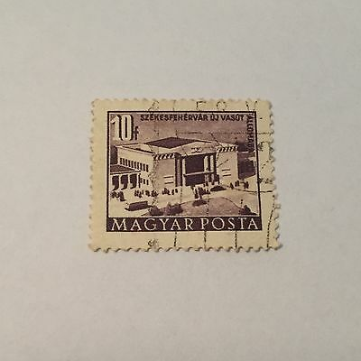 Hungary Magyar Posta 10f Stamp Good Used Cond. LH