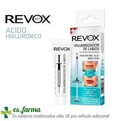 Revox Voluminizador Labios Acido Hialuronico 12Ml Hyaluronic Acid Lip Plumper