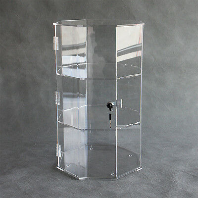 Octagonal Acrylic  Showcase / Perspex Cabinet / Storage Box / Display Case