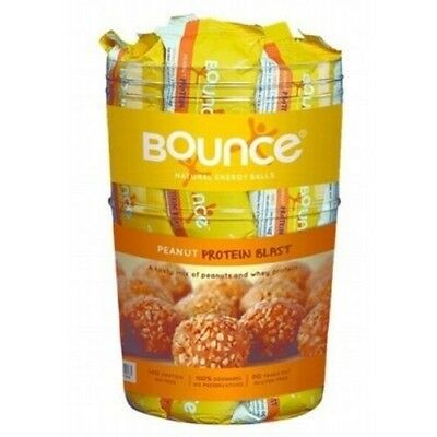 BOUNCE BALLS PROTEIN ASSORTED FLAVOURS 40 x 40g (Big Plastic Drum) Free Shipping