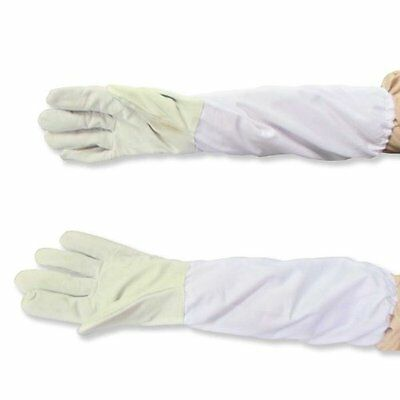 BIG SALE Beekeeping Gloves, Goatskin Bee Keeping Gloves with Vented Cloth Sleeve