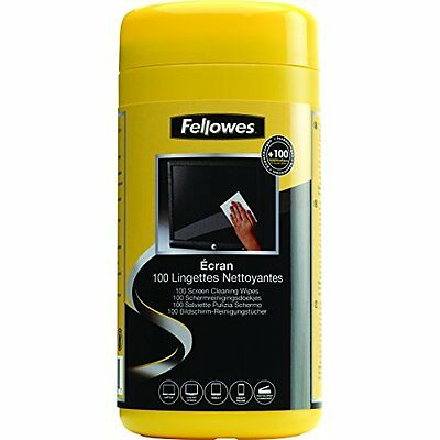 Fellowes Performance 100 Screen Cleaning Wipes Tub