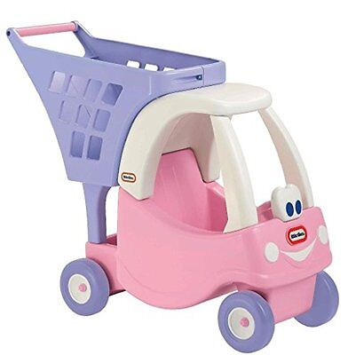 Little Tikes Pink Cozy Shopping Cart