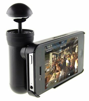 Bubblescope 360 Degree Optical Camera Lens with Case for iPhone 4/4S - Black