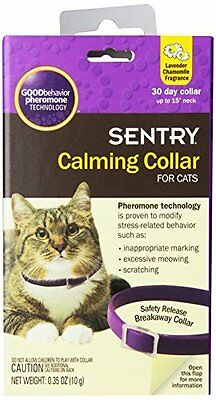 GOODbehavior Pheromone Calming Collar Cat 15 In