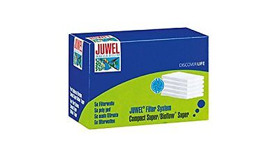 Juwel Pack of 5 Poly Pad Bioflow Compact Super