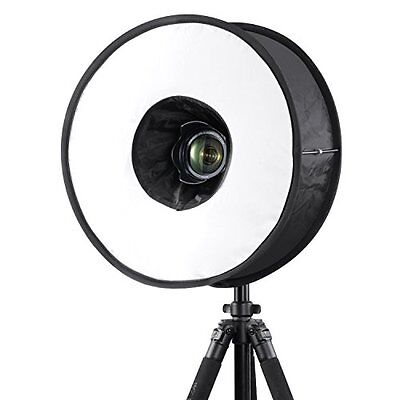 "Neewer 18""/45cm Round Universal Collapsible Magnetic Ring Flash Diffuser Soft B"