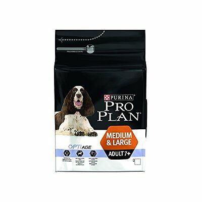 Purina Pro Plan Medium and Large Adult 7+ with Optiage Dry Dog Food Rich in Chic