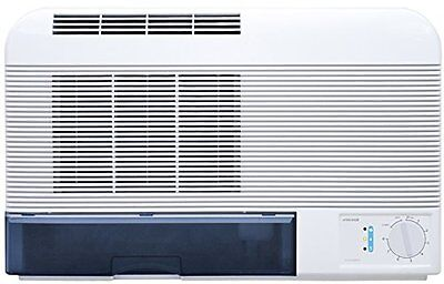 EcoAir DCW10 Simple Wall Mount/Free Standing Dehumidifier with Charcoal Filter,