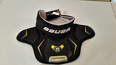 Bauer Supreme Goalie neck guard Black Senior Ice hockey