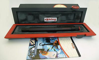 Old Style Rotring 600 Fountain Pen, M Steel Nib, Mint with Box