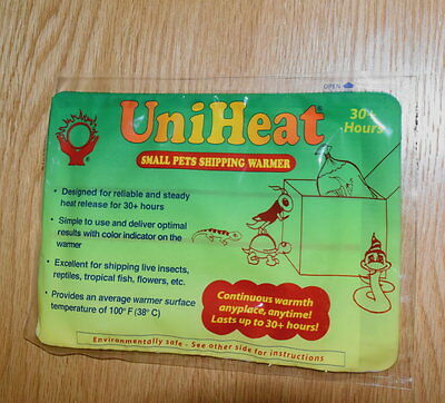 Uniheat 30+ hours Shipping Warmer Heat Packs