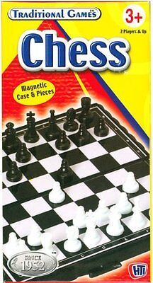 Magnetic folding mini chess board set with pieces - IDEAL FOR TRAVELLING
