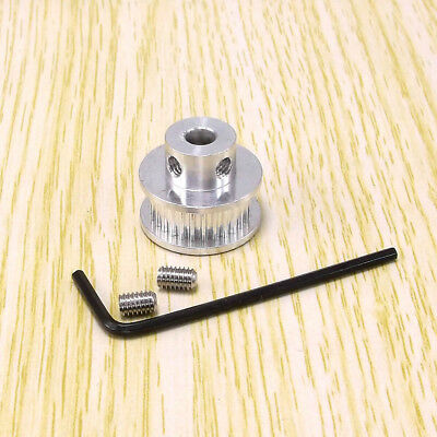 GT2-28T 2mm Pitch 5mm Bore Aluminum Timing Belt Drive Pulley 28 Teeth 3D Printer