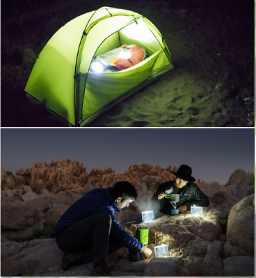 Waterproof Fold Inflatable Solar Pool Spa Bath Camping Party Garden Led Light