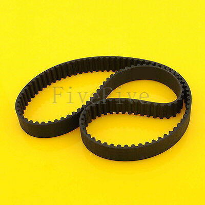 HTD 5M 500/550/575/600/650/750mm Rubber Closed Timing Belt 15mm Width For CNC