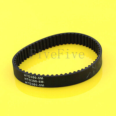HTD 5M 200/270/300/325/350/375mm Rubber Closed Timing Belt 20mm Width For CNC