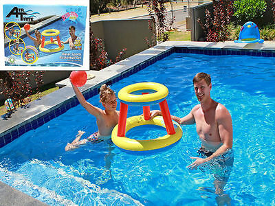 pool toy inflatable basketball game 74cm x 52cm buy 1 get 1 free