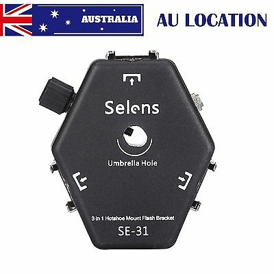 Selens SE-31 3-in-1 Hotshoes Umbrella Holder Light Stand Bracket For YongNuo