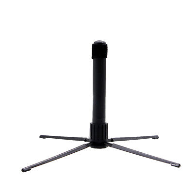 Compact Metal Flute Quadripod Holder Woodwind Instrument Stand Accessory