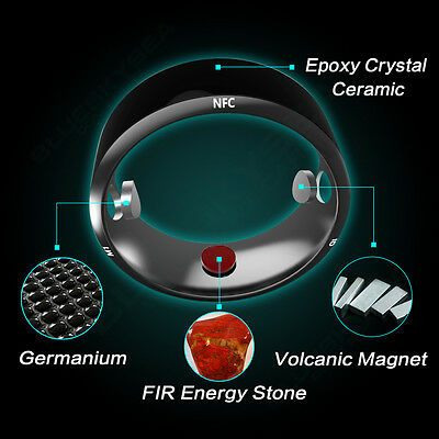 US SHIP! New Intelligent R3 NFC Magic Wear Smart Rings For Android/IOS/Windows