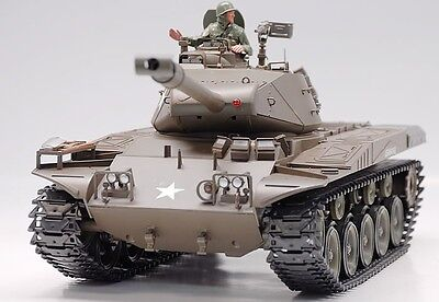 2.4Ghz Radio Control 1/16 U.S M41A3 Walker Bulldog Battle Tank w/Smoke Sound RTR