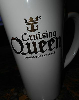 Cruising Queen Coffee Mug Royal Caribbean Cruise Lines Freedom of the Seas Cup