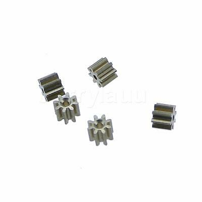 5Pcs 3.6mmx0.95mm 8 Teeth Brass Thick Motor Spindle Gear for DIY Robbot