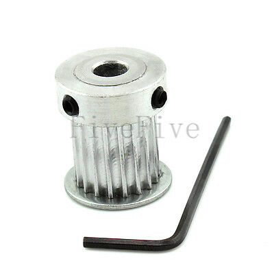 HTD 3M-20T 16mm Width Stepper Motor Aluminum Timing Belt Pulley 20 Teeth CNC