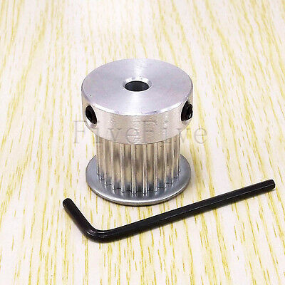 HTD 3M-24T 16mm Width Stepper Motor Aluminum Timing Belt Pulley 24 Teeth CNC