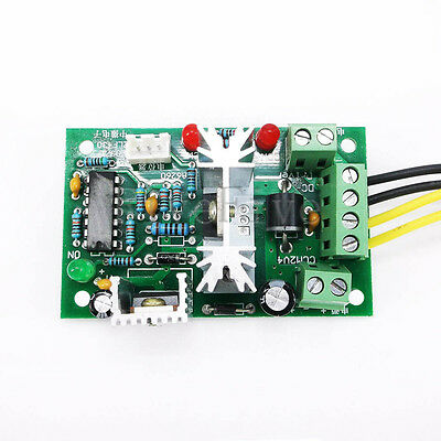 6-30V DC 6A PWM Motor Regulator Speed Control Switch Forward Reversal Rotation