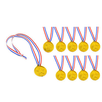 24 Pcs Plastic Winners Medals Toys Children Kids Game Competition Awards Gift