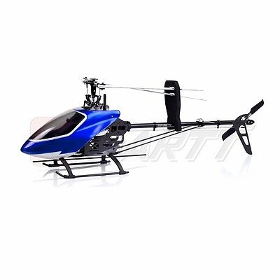GARTT 500 FBL TT 6CH Flybaless Torque Tube RC Helicopter Kit Fits Align Trex 500