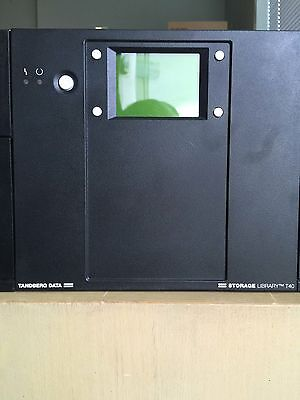 Tandberg Storage Library T40 With Ibm 95P6013 Lto4 40 Tape Capacity A1 Condition