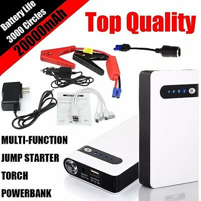 12V Minimax Portable Car Jump Starter Power Bank Vehicle Battery Charger US Plug
