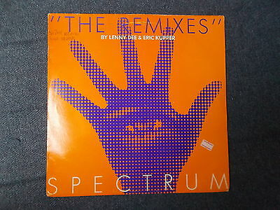 "Spectrum The Remixes 12"" R & S Records 1991 RS 9101"