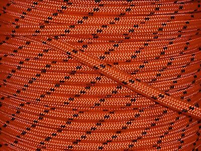 "Double Braid Polyester 1/2""x 600 feet arborist rigging tree rope line bull rope"