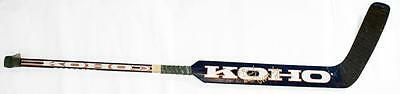 Tommy Salo Edmonton Oilers Signed Autographed Game Used Goalie Stick 2E