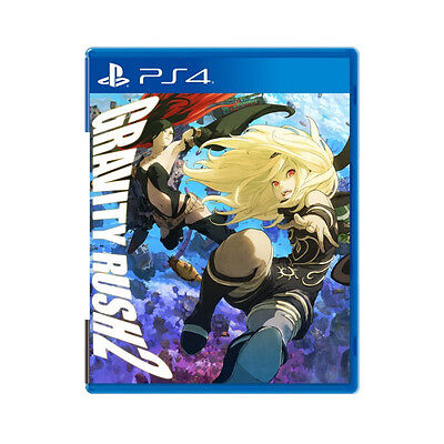 Gravity Rush 2 PlayStation PS4 2017 English Chinese Factory Sealed