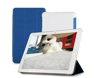 TopAce PU Leather Smart Case With Stand Function For Chuwi Hi12 Blue