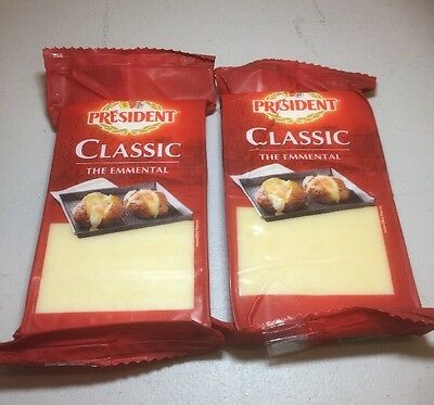 Emmental Cheese 2 X 200g Great For Melting
