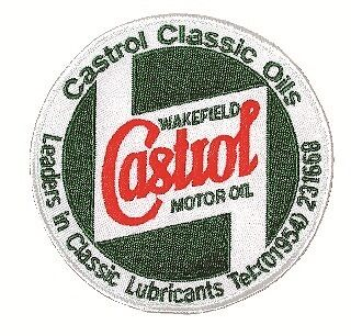Castrol Classic Embroidered Sponsors Sew-On-Badge